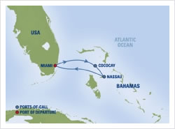 1 2 And 3 Night Caribbean Bahamas Cruises 4 And 7 Day
